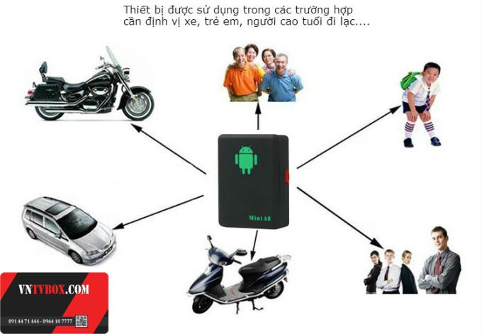 Thiết bị định vị thông minh mini A8 tìm người mất tích và chống mất tài sản - 138162