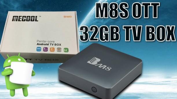 Android TV Box Mecool BM8 cấu hình cao giá tầm trung