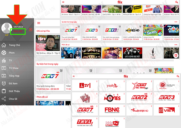 Hướng dẫn TV Box xem truyền hình bản quyền FlixTV miễn phí - 162026