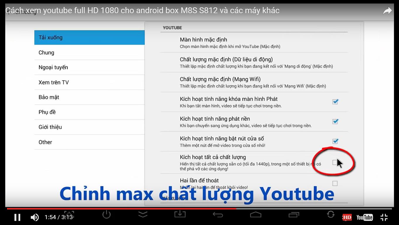 Đánh giá Android TV Box xem youtube chất lượng tốt nhất